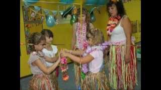 видео Гавайская вечеринка для детей