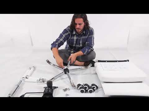 Ribbed office chair installation video