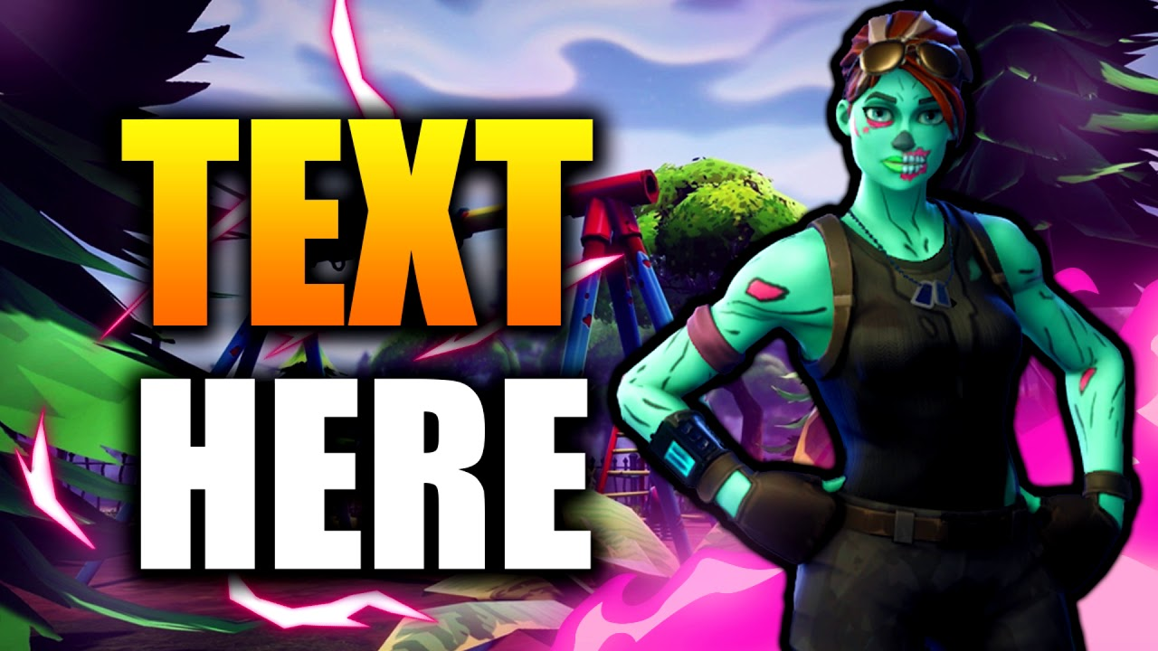 fortnite thumbnail template (free download) - YouTube