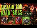 SUSTAIN GOD RAID BOSS DARIUS [ 819+ AD HEAL TANK 1v5 PENTAKILL ]