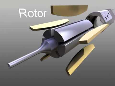 Пневматический двигатель Desoutter Tools.mp4