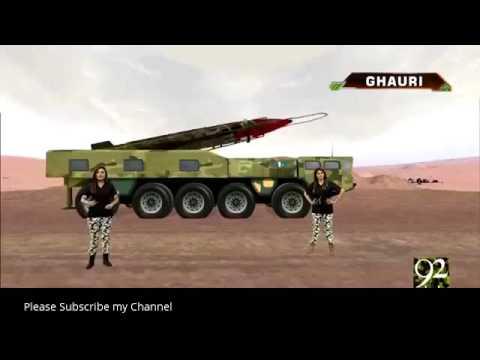 pakistan technology Atomic missile range map