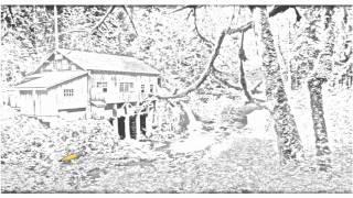 Auto Draw 2: Cedar Creek Grist Mill, Washington