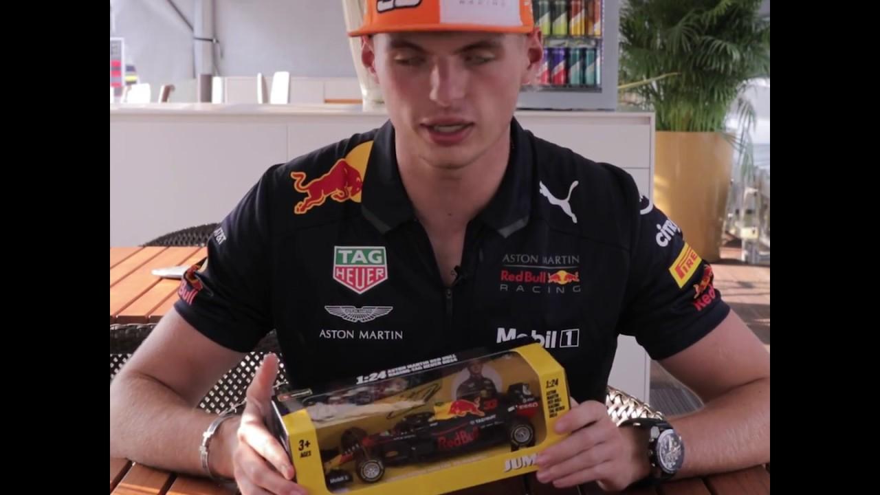 Max Verstappen Unboxing 1 24 Rb14 2018 Jumbo Edition