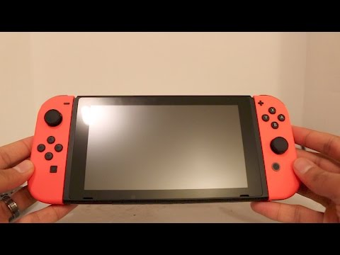 nintendo-switch-neon-red-joy-cons-unboxing