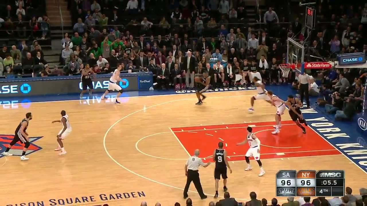 Spurs Vs Knicks Detail: Kawhi Leonard Misses Game Winner Spurs Vs Knicks