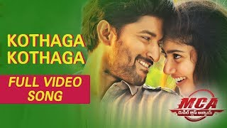 MCA Video Songs - Kothaga Kothaga Full Video Song | Nani, Sai Pallavi