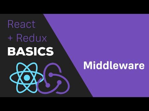 ReactJS / Redux Tutorial - #6 Redux Middleware