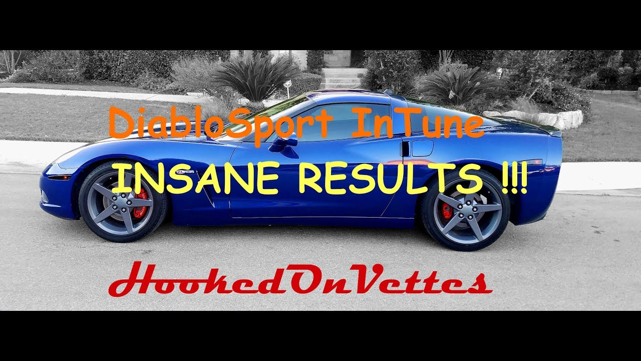 DiabloSport InTune i2: Insane Results with C6 Corvette !! by HookedOnVettes