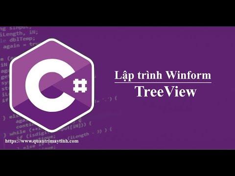 Lập trình C# winform - TreeView
