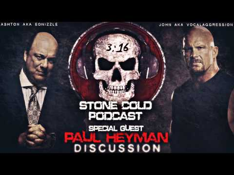 SCSA Podcast w/ Paul Heyman: Discussion