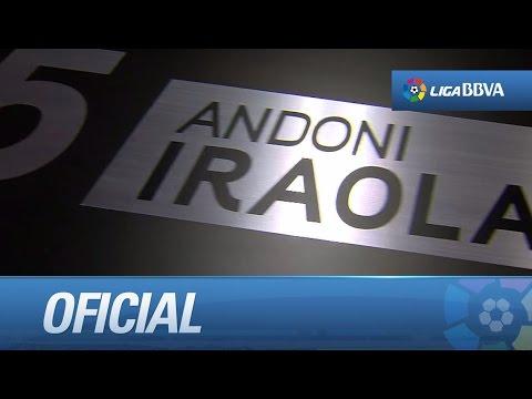 Último partido de Iraola con el Athletic Club