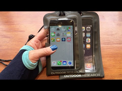 the best attitude 5a354 2ec9c Outdoor Research Sensor Dry Pocket Waterproof Case for iphone