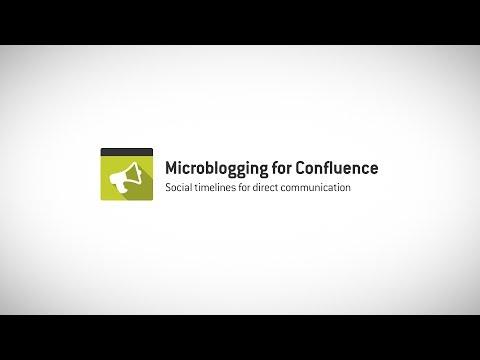 Microblogging for Confluence 3.0 - Direkte Kommunikation mit Social Timelines