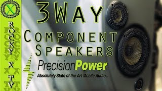 Precision Power 3 Way Component Speakers, Project Renegade Ep.3️⃣3️⃣