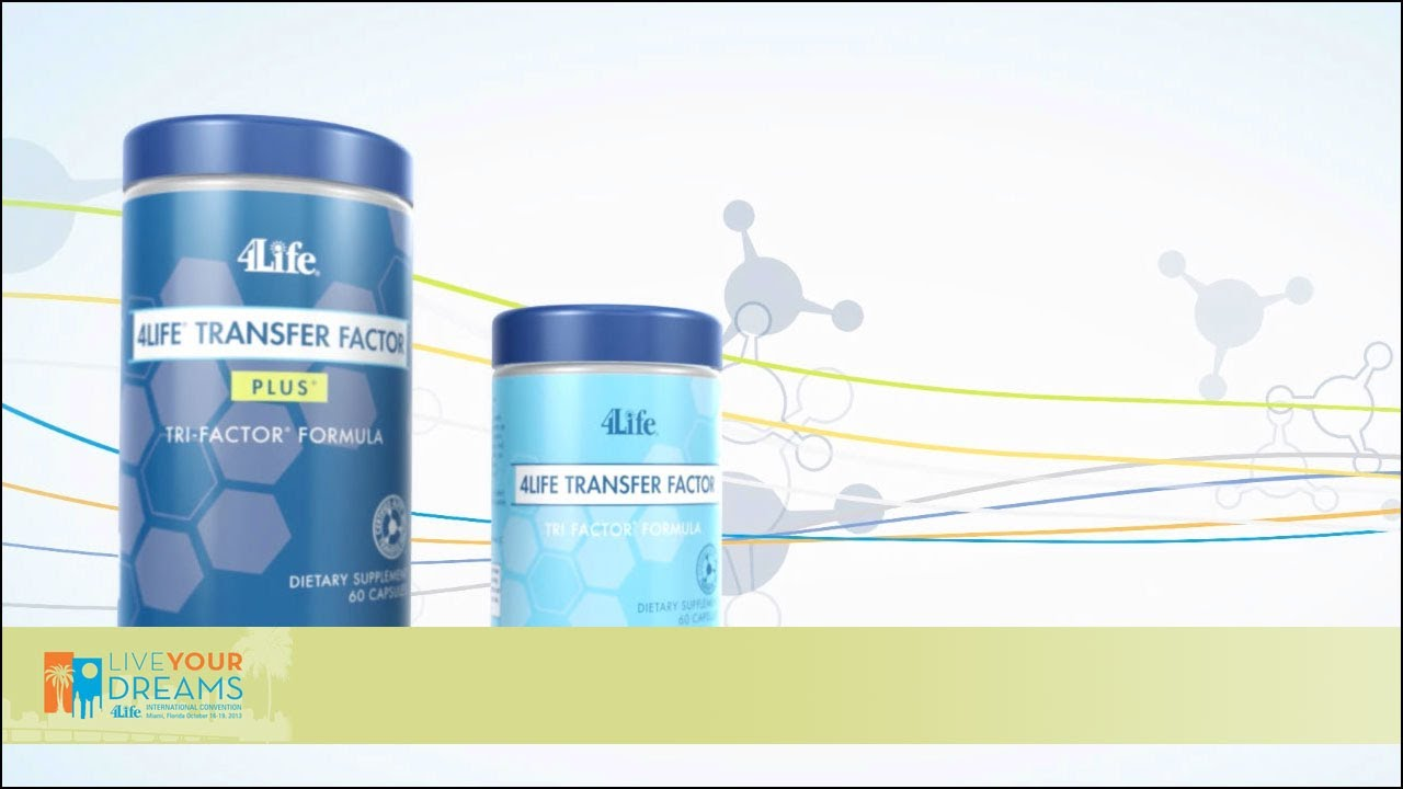 The New Look Of 4life Transfer Factor Youtube Tf Tri Plus
