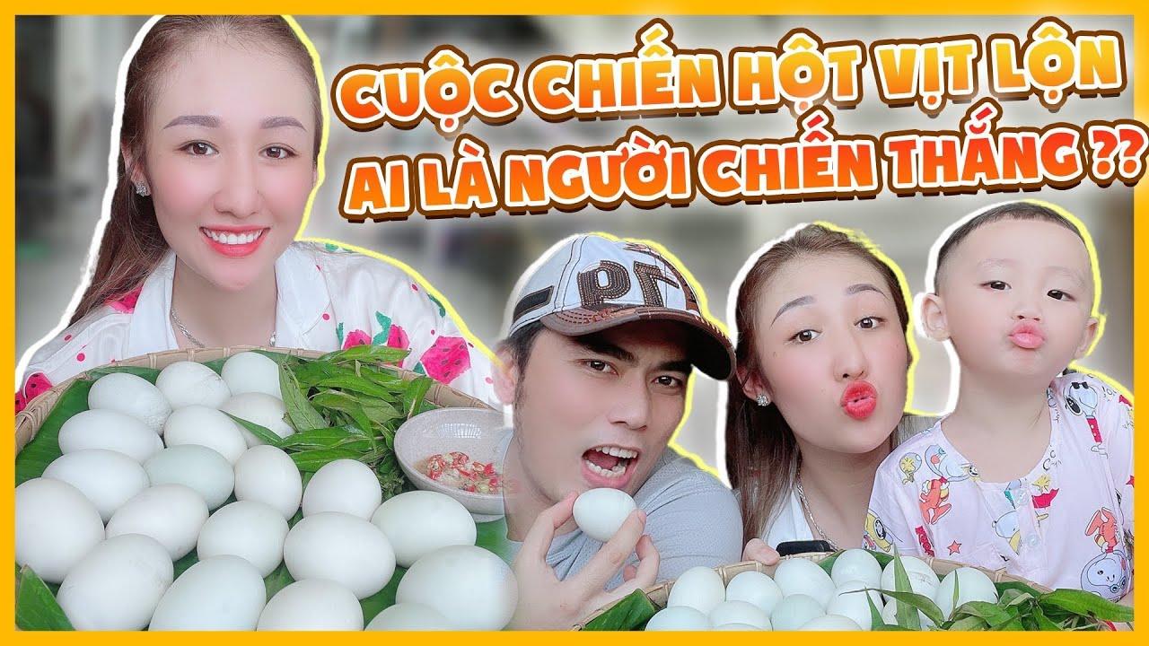 Nguyễn Huỳnh Như thi ăn hột vịt lộn cùng chồng, ai sẽ là người chiến thắng? | Ngày giãn cách thứ 7