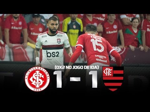 Flamengo Na Semifinal Assista Ao Pós Jogo De Internacional 1 X 1 Flamengo Pela Libertadores