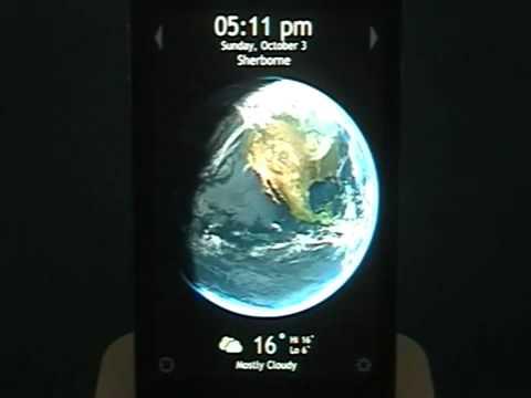Living Earth HD世界天氣時鐘 iPhone示範影片