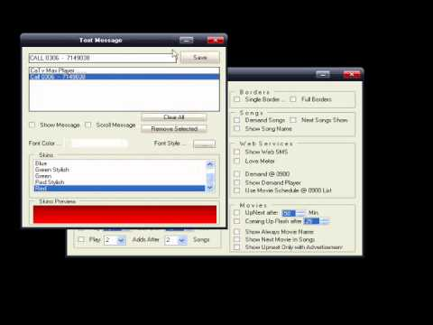 CaTv Max Player V 2.0 Cable Software In Pakistan Part1.wmv