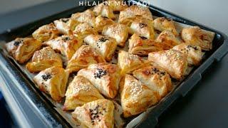 Sadece 2 Yufka İle 1 Tepsi Börek Yapabilirsiniz 😋 💯/Patatesli Üçgen Börek 👌👌