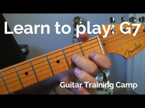 Beginner Guitar Lessons: How to play a G7 chord - YouTube
