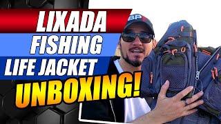 Fishing Life Jacket Lixada Life Jacket UNBOXING Lixada Life Jacket Fishing Life Jacket Reviews