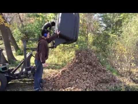 John Deere 445 >> John Deere 445 lawn vac mk2 - YouTube