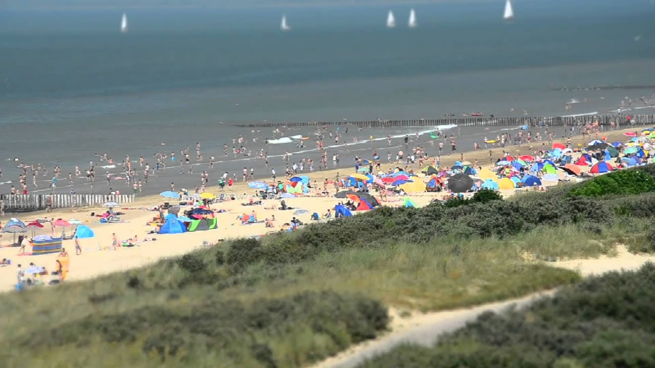 Cadzand Bad Zeeland - YouTube