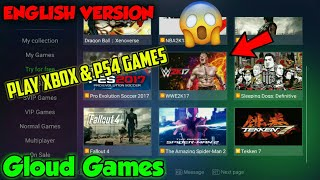 How To Download Gloud Games (English Version + No VPN Required) For Android (Play Xbox & PS4 Games)