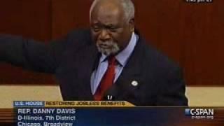Rep. Danny Davis Speaks For UI Extension