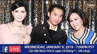 Livestream với Mai Thiên Vân, Đan Nguyên, Băng Tâm - Jan 9, 2019