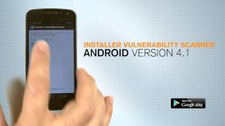 Installer Vulnerability Scanner App Demo