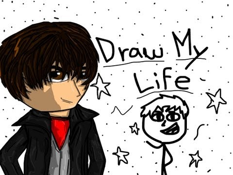 TMD : Draw My Life / Draw My Life in Youtube