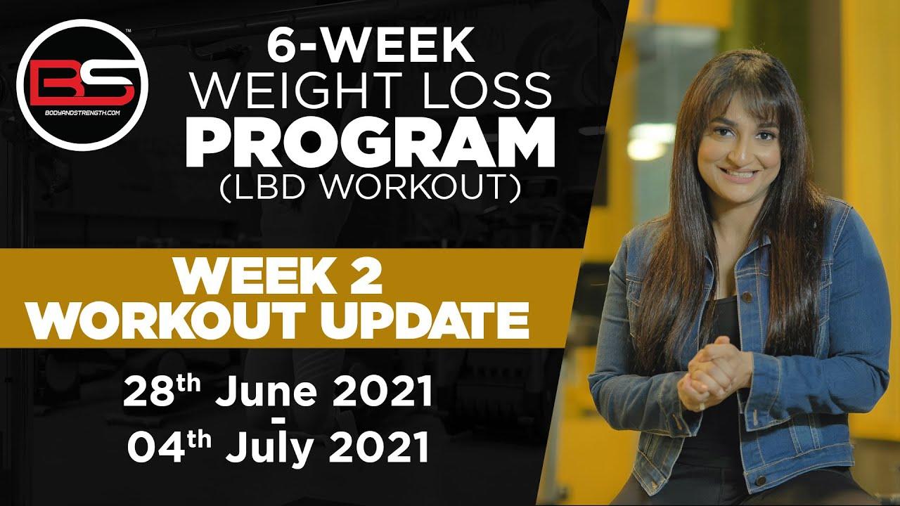 Week 2 Update | 6-Week Weight Loss Program