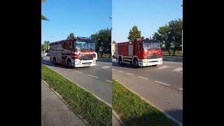 APS Actros + ABP Atego VVF Motta Di Livenza [1]  2x Italian Fire Dept trucks responding