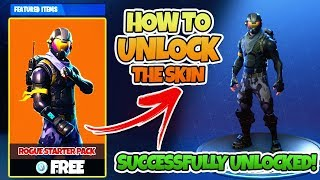 "*NEW* How To UNLOCK ""Rogue Starter Pack"" - NEW SKIN UPDATE! 