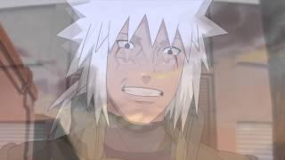 Naruto-La despedida de jiraiya