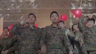 송중기-진구, 레드벨벳 등장에 부대원들과 '떼창'[태양의 후예]