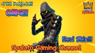Skin from Save the world in the SHOP!!!!!! -Fortnite Balkan-Target 2400 subsites + 755 win!!! #331