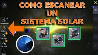 SECOND GALAXY EN ESPAÑOL- CAPITULO 8 MISION DE ESCANEO DE SS UNA VEZ, COMO ESCANEAR UN SISTEMA SOLAR
