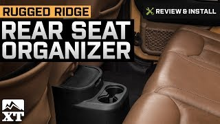 Jeep Wrangler Rugged Ridge Rear Seat Organizer (2011-2017 JK 4-Door) Review & Install