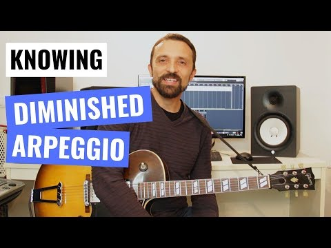 Guitar Tip #5 - Diminished Arpeggio Without Getting Confused