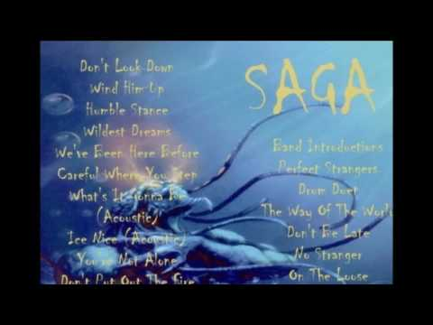 Saga Live Scandinavium Gothenburg 1988 (From a bootleg CD)