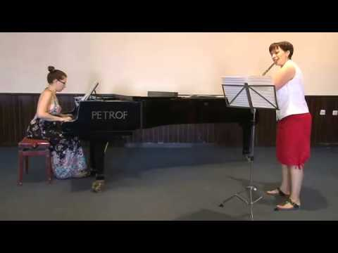 Variations on an Albanian Folk Tune by F. Ibrahimi accompanied by Vesna Tasevska on Piano
