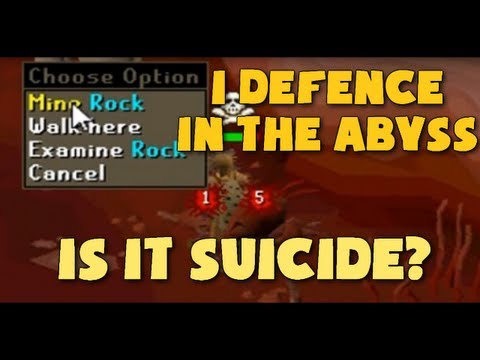 Runescape 2007: Time Wasted 1 Defence Abyss Runecrafting?!