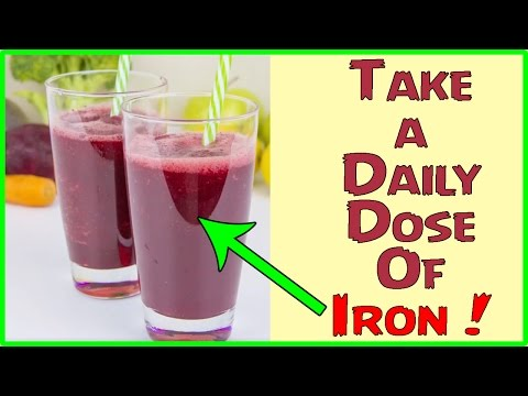 Take a Daily Dose Of Iron | Healthy Drinks | Healthy Drink Mixes