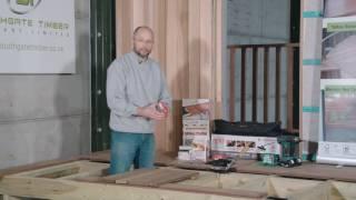 How to fit Ipe Hardwood Decking