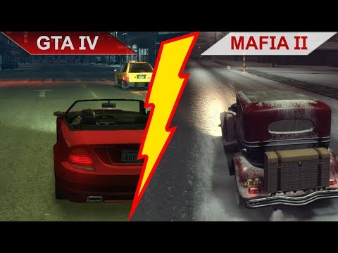 BIG BATTLE: GTA IV (2008) vs. MAFIA II (2010) COMPARISON   PC   ULTRA
