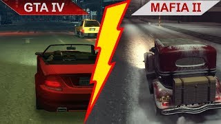 BIG BATTLE: GTA IV (2008) vs. MAFIA II (2010) COMPARISON | PC | ULTRA